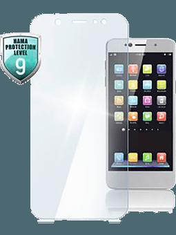 Hama Echtglas-Displayschutz Premium Crystal Glass für Samsung Galaxy A40 Vorderseite