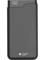 freenet Basics Premium Powerbank mit 20.000 mAh (schwarz)