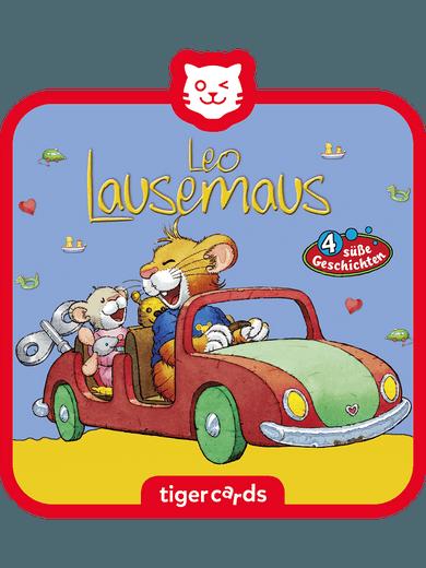 tigercard - Leo Lausemaus - Folge 6: Will nicht teilen und 3 weitere Geschichten