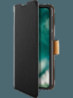 freenet Basics Premium Wallet Samsung Galaxy A12 (schwarz) Vorderseite