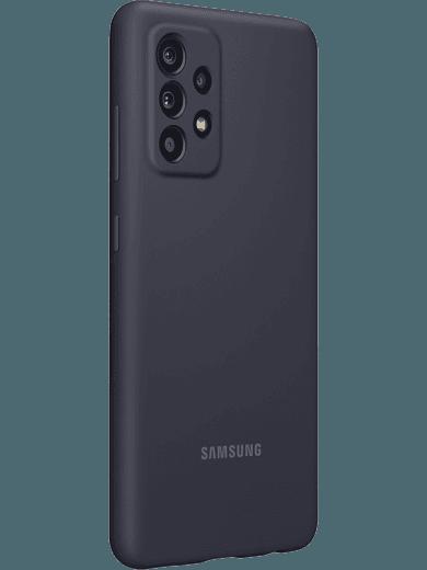 Samsung EF-PA525 Silicone Cover Galaxy A52 (schwarz)