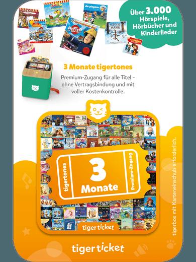 tigerticket - 3 Monate