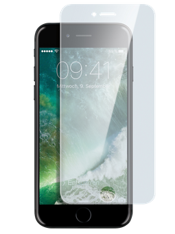 freenet Basics Real Glass 3D für iPhone 6/6s/7/8 transparent Vorderseite