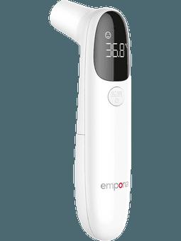 Emporia kontaktloses Fieberthermometer (weiß) Vorderseite