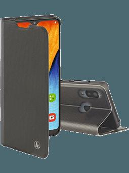 Hama Booklet Slim Pro Samsung Galaxy A20e (dunkelgrau) Vorderseite