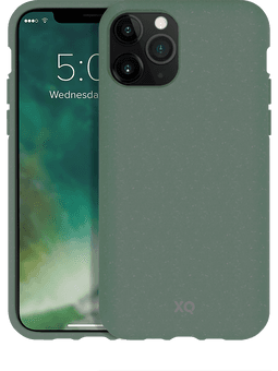 XQISIT ECO Flex iPhone 11 Pro Max (grün) Vorderseite
