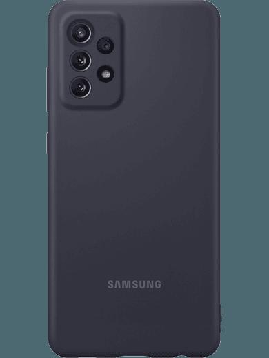 Samsung EF-PA725 Silicone Cover Galaxy A72 (schwarz)