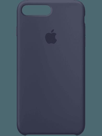 Apple Silikon Case für iPhone 7 Plus Blau