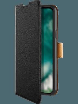 freenet Basics Premium Wallet Samsung Galaxy A21s (schwarz) Vorderseite