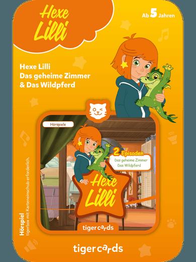 tigercard - Hexe Lilli - Das geheime Zimmer & Das Wildpferd