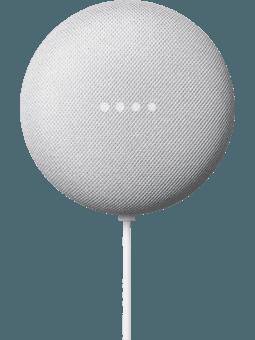 Google Nest Mini Kreide (2. Generation) Vorderseite