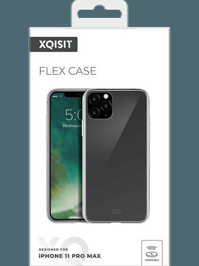 XQISIT Flex Case iPhone 11 Pro Max (transparent)
