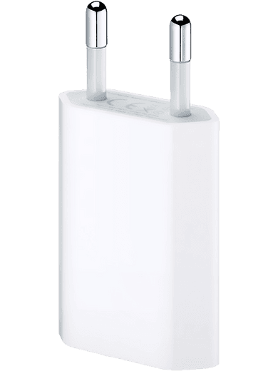 Apple Power Adapter 5W USB weiss