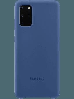 Samsung EF-PG985 SiliconeCover Samsung Galaxy S20+ (blau) Vorderseite