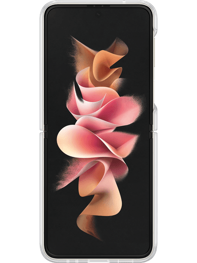 Samsung EF-QF711 Clear Cover mit Ring Galaxy Z Flip 3 (transparent)