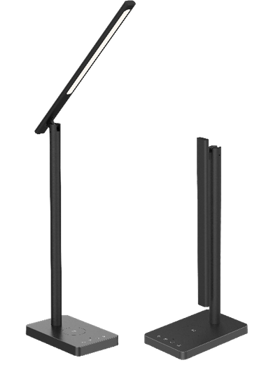 XQISIT Homeoffice-Set (Lampe + Ladestation + Kopfhörer)