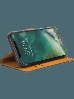 freenet Basics Premium Wallet iPhone 12/12 Pro (schwarz) Vorderseite