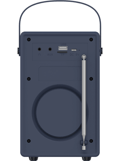 freenet Basics Digitalradio & Bluetooth-Box blau