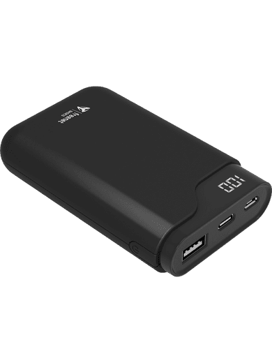 freenet Basics Premium Powerbank mit 7500 mAh (schwarz)