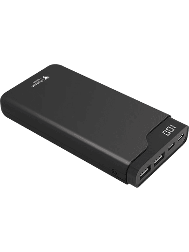 freenet Basics Premium Powerbank mit 12000 mAh (schwarz)