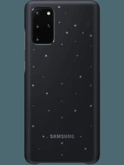 Samsung EF-KG985 LED-Cover Samsung Galaxy S20+ (schwarz) Vorderseite