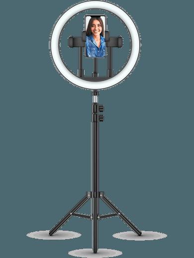 XQISIT Selfie Ring Light Set (14 Zoll)