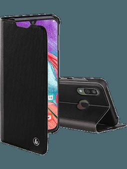 Hama Booklet Slim Pro für Samsung Galaxy A40 (schwarz) Vorderseite