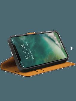 XQISIT Slim Wallet Selection iPhone 12 Pro Max (schwarz) Vorderseite