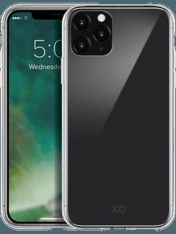 XQISIT Phantom Glass Case iPhone 11 Pro Max (transparent) Vorderseite