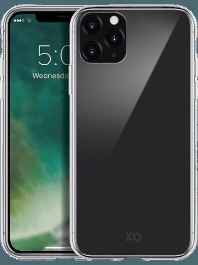 XQISIT Phantom Glass Case iPhone 11 Pro (transparent)