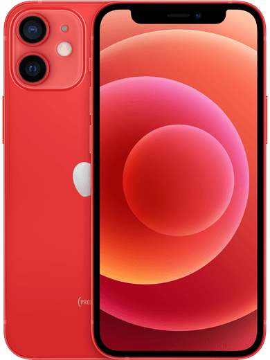 iPhone 12 mini 64GB schwarz Product Red