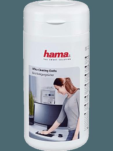 Hama Büro-Reinigungstücher (100 Stück) in Spenderdose