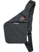 4smarts Cross-Body-Tasche bis 9.7 Zoll grau