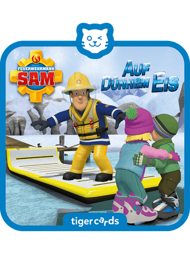 tigercard - Feuerwehrmann Sam - Auf dünnem Eis