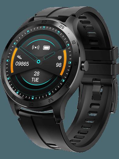 XQISIT Active Smartwatch Pro (schwarz)