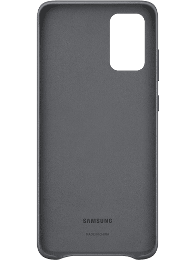 Samsung EF-VG985 Leather-Cover Samsung Galaxy S20+ (grau)