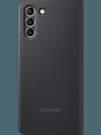 Samsung EF-ZG996 Smart Clear View Cover Galaxy S21+ (schwarz)