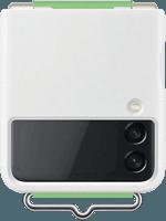 Samsung EF-GF711 Silicone Cover mit Strap Galaxy Z Flip 3 (weiß)