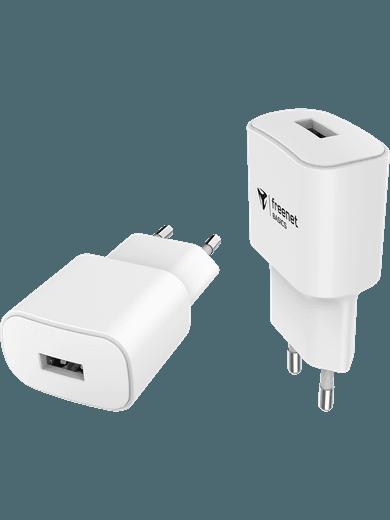 freenet Basics Travel Charger USB-A weiß