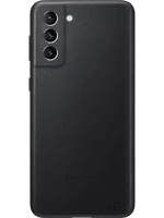 Samsung EF-VG996 Leather Cover Galaxy S21+ (schwarz)