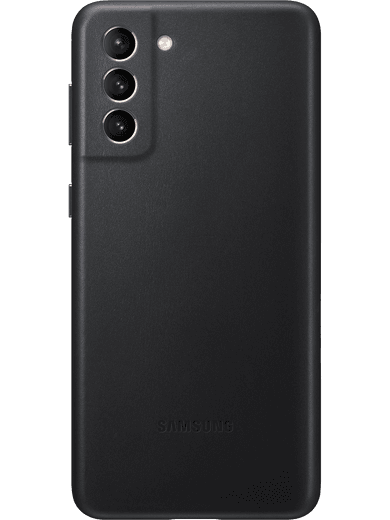 Samsung EF-VG996 Leather Cover Galaxy S21+ (schwarz)