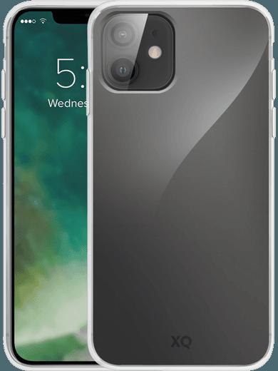 XQISIT Flex Case iPhone 12 mini (transparent)