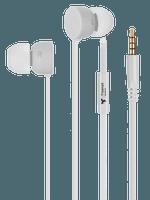 freenet Basics Kopfhörer In-Ear 3,5mm weiß