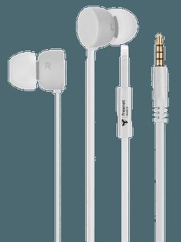 freenet Basics Kopfhörer In-Ear 3,5mm weiß Vorderseite