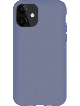 XQISIT ECO Flex Case iPhone 11 blau Vorderseite