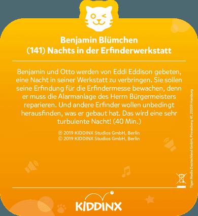 tigercard - Benjamin Blümchen - Folge 141: Nachts in der Erfinderwerkstatt