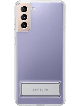 Samsung EF-JG996 Clear Standing Cover Galaxy S21+ (transparent) Vorderseite