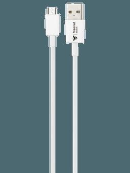 freenet Basics Lade- & Datenkabel Micro-USB 100cm Weiß Vorderseite