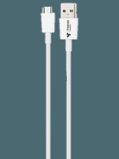 freenet Basics Lade- & Datenkabel Micro-USB 300cm Weiß
