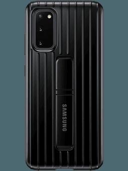 Samsung EF-RG980 Protective Standing Cover Samsung Galaxy S20 (schwarz) Vorderseite